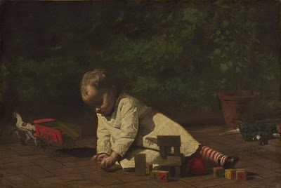 eakins-baby-at-play