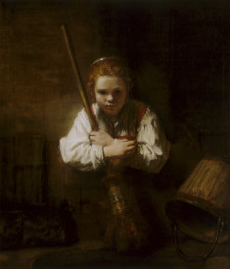 fabritius-girl-with-a-broom