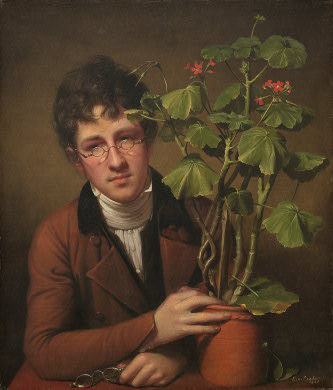 peale-rubens-with-a-geranium