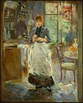 cooking storms head for art in the dining room by berthe morisot 1886 photo canvas