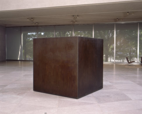 "Tony Smith, ""Die"", 1962-1968"